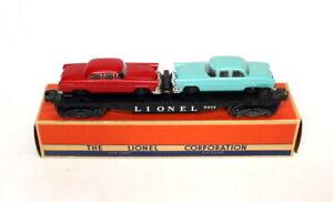 Postwar Lionel 6424 Twin-Auto Flatcar~All Original~w/Nice OB