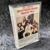 Allman Brothers Band Ramblin' Man Cassette Tape Polygram 1990