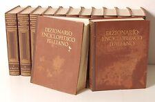 Dizionario enciclopedico italiano, Treccani, 1970. 12 volumi + 1 supplemento.