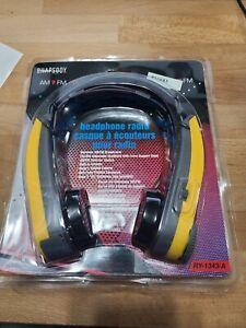 Alaron Rhapsody Outsider AM/FM Headphone Radio RY-1343 BRAND NEW SEALED