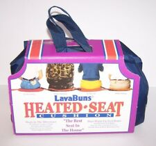 LavaBuns Lava Buns Heated Seat Cushion Stays Warm Up to 6 Hrs New Navy Blue