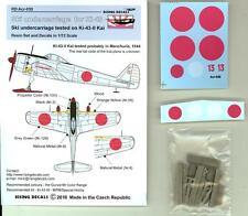 Rising Decals 1/72 SKI UNDERCARRIAGE FOR NAKAJIMA Ki-43 OSCAR Resin Set