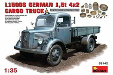 Miniart 35142 1/35 MB 1500S German 1,5t Cargo Truck
