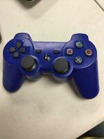 PS3 Playstation Blue Dualshock 3 Controller Gamepad CECHZC2U(no sony)