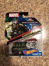 Hot Wheels Marvel Thor Ragnarok Gladiator Hulk Character Cars Mint on Card