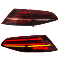 LED Tail Lights For VW Golf MK7 GTI R 7 7.5 Red Rear Lamps Blinkers