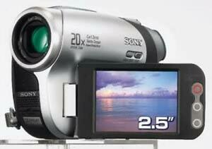 Sony DCR-DVD653E PAL DVD Camcorder - Video Transfer