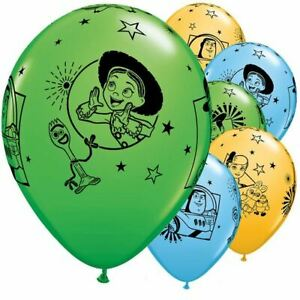 """6 x 12"""" Round Toy Story 4 Latex balloons"""