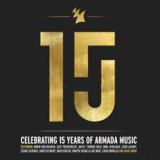 Armada 15 years (SPECIAL DIGIPACK Limited Edition) 4 CD Armin Van Buuren NEUF