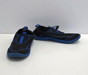 SPEEDO Black Blue Pull On Water Shoes - 2/3