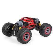 1/10 radio remote control RC Car Truck 4WD Double Side Stunt One Key Deformation