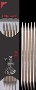ChiaoGoo Premium Edelstahl Nadelspiel Strumpf Stricknadel alle Größen + Längen