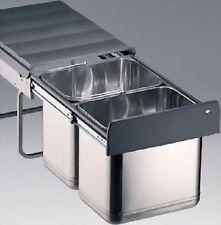 Wesco Poubelle Single Master déchets collectionneur tretabfallsammler Tôle d/'acier Blanc 9 L