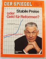 Der Spiegel 19.01.1970 Magazin Stabile Preise oder Geld für Reformen? B9829