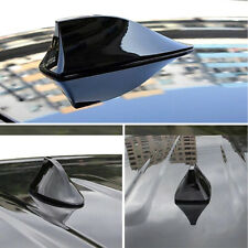 Black Shark Fin Roof Antenna Aerial Fmam Radio Signal Decor Car Trim Universal Fits Saab