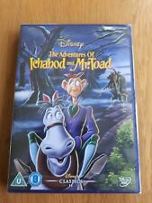 *NEW & SEALED* DISNEY THE ADVENTURES OF ICHABOD AND MR TOAD DVD PAL REGION 2