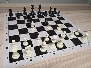 Professional Tournament Chess Set 51x51cm Large Board FIDE Standard DCP03G DMV03