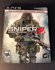 Sniper Ghost Warrior 2 [ BulletProof STEELBOOK Edition ] (PS3) USED