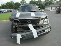 Front Door LEXUS LX470 Right 98 99 00 01 02 03 04 05 06 07