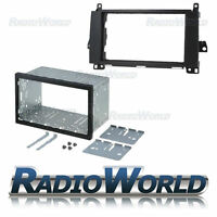Mercedes Sprinter Double Din Fascia Panel Adapter Plate Trim Cage Fitting Kit