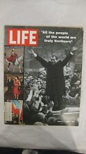Life Magazine March 7th 1969 All The People Of The World Truly Published By Time