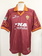 La ROMA 1999 DIADORA match worn player Shirt No.10 TOTTI ITALIA