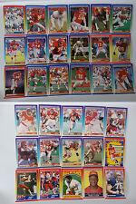 1990 Score Kansas City Chiefs Team Set of 33 Football Cards