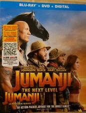 Jumanji 3 The Next Level Blu-Ray & DVD w Slipcover Canada Bilingual NO DC LOOK