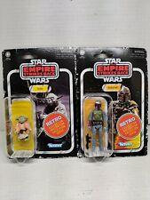 Star Wars Retro Collection Empire Strikes Back Yoda And Boba Fett