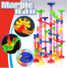 105pcs DIY Marble Race Run Maze Building Blocks Tower Game Kids Child Toy Gifts
