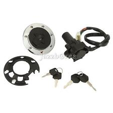 Ignition Switch Lock Fuel Gas Cap Key For Kawasaki ZX7R ZX9R ZXR750 ZZR 400 600
