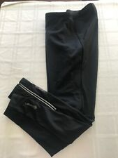 Canari Mens XXL Long Zip Ankle Cycling Tights Pants BLACK TS9