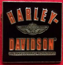 Harley-Davidson 100 Year Anniversary Pin 1903-2003 Collectible Limited Edition.