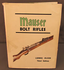 Mauser Bolt Rifles Third Edition Book