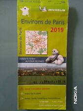 CARTE MICHELIN N°106 ZOOM ENVIRON DE PARIS - Ed.2019
