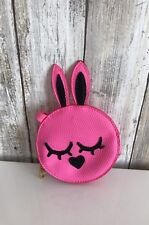 Marc by Marc Jacobs KATIE Rabbit Bunny Zip Coin Bag Pouch Ultra Pink Used RARE!