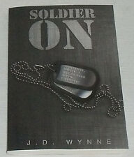 Soldier On Book By J. D. Wynne NEW Paperback