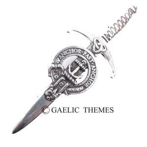 Gray Clan Crest Kilt Pin