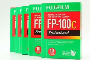 """""""Brand New 05/2017"""" FujiFilm FP-100C Pro Instant Color Film 5 Packs From JAPAN"""