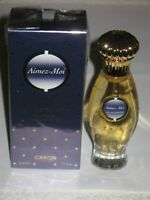 Vintage Caron Spray Perfume Bottle/Box - Aimez Moi - ETP 50 ML - 1.7 OZ - Full