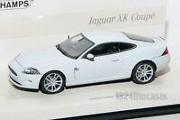 Jaguar XK Coupe white, Minichamps Linea Bianco 436 130500 scale 1:43, car gift