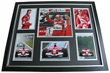 Michael Schumacher SIGNED FRAMED Photo Autograph Huge display Formula 1 & COA