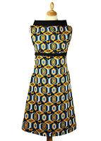 NEW RETRO SIXTIES INDIE GEOMETRIC 60s 70s MOD DRESS Vintage ACE DRESS MC111