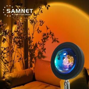 Sunset Projection Night Lights Live Broadcast Background Galaxy Projector Lamp