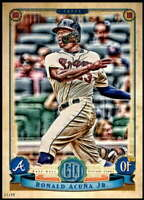 Ronald Acuna Jr. 2019 Topps Gypsy Queen 5x7 #150 /49 Braves