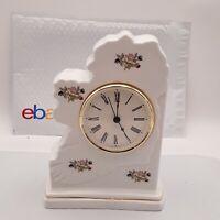 Royal Tara China Mantel Clock Crafted In Ireland