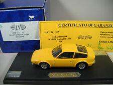 RARE ALFA ROMEO JUNIOR ZAGATO 1300 1969 IV Model Factory Hand built 1/43éme