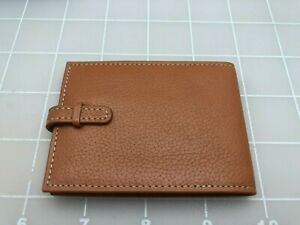 Judd's New in Box Brown Leather Levenger Tab Holder