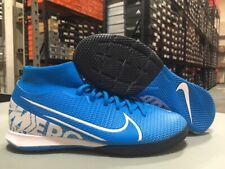 Nike Men's Superfly 7 Academy IC Soccer Shoes (Blue Hero/White) Size: 6.5 NEW!
