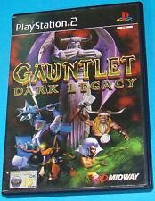 Gauntlet Dark Legacy - Sony Playstation 2 PS2 - PAL